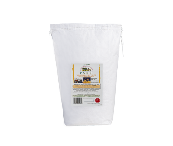 Farina di grano antico Verna confezione da kg 5