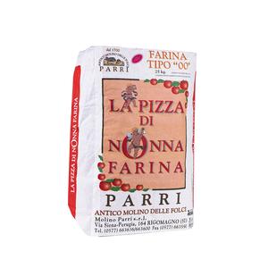 """Farina tipo""""00""""speciale per pizza confezione da kg 25 nonna farina rossa"""