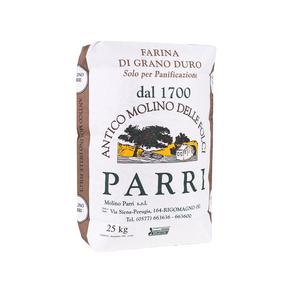 Sfarinato di grano duro confezione da kg 25