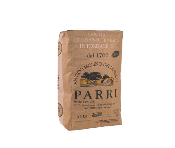 Farina tipo integrale fine confezione da kg 25