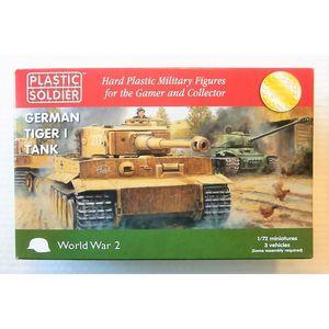 German Tiger I tank Plastic Soldier