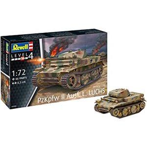 Pzkpfw II Ausf.L. LUCHS REVELL