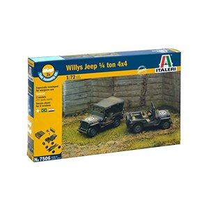 Willy's Jeep ¼ ton 4x4 Italeri
