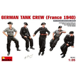GERMAN TANK CREW (France 1940) MINIART 35191 SCALA 1:35
