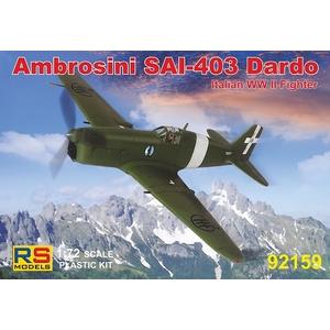 Ambrosini SAI-403 DARDO (Italian WW II Fighter)