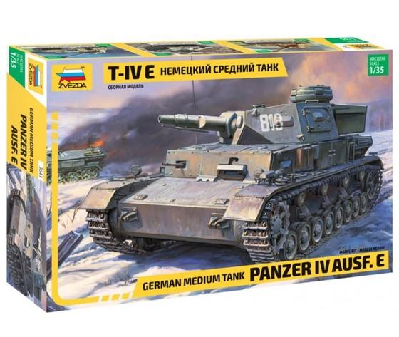 Panzer iv ausf. e zvezda