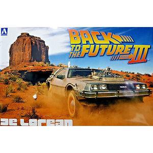 BACK TO THE FUTURE PART III DE LOREAN AOSHIMA ART 2800