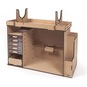 OFFICINA MOBILE PORTATILE ( OcCre - 19110 ) Dimensioni: 572lungh. x 230largh. x 445h mm