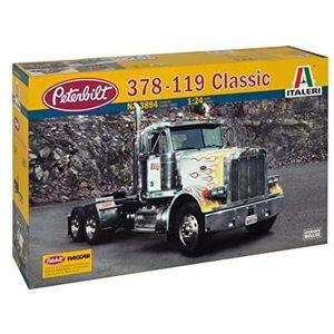 Italeri 3894 - Classic Peterbilt 378-119 Model Kit Scala 1:24