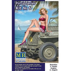 Pin-up series Kit No. 6 Samantha Master Box | N. MB24006 | 1:24