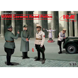 WWII GERMAN ROAD POLICE ICM