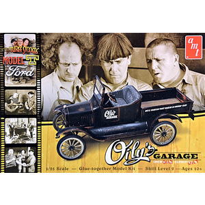 AMT 1012/12 Three Stooges Oily's Garage 1925 Ford Model T 1/25 MCM FS