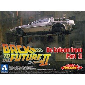 Back to the future DeLorean Part II 05476 AOSHIMA scala 1:43