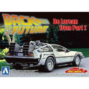 AOSHIMA - 1/43 Back to the future DeLorean Part I
