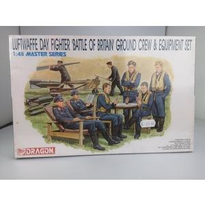 Luftwaffe day fighter, Battaglia d'Inghilterra (equipaggio di terra e set di attrezzature)