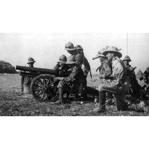 ITALIAN CANNONE 65/17 MOUNTAIN GUN & SHIELD 5 CREW + ACCESSORIES EWM