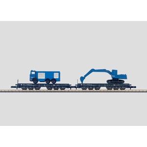 Marklin 82354 Set di carrozze da trasporto per impieghi gravosi