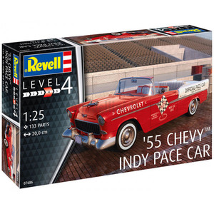 55 CHEVY INDY PACE CAR REVELL 1/25