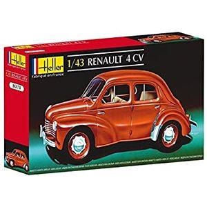 Heller 80174 - Renault 4 CV, Scala 1:43
