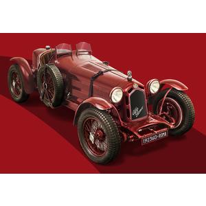 alfa romeo 8c 2300 Roadster Italeri 1:12