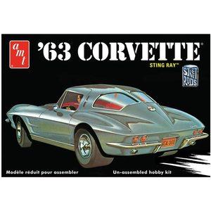 1963 Chevy Corvette Model Car (AMT861/12) 1:25 Scale