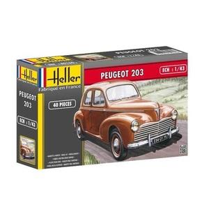 Peugeot 203 Heller | N. 80160 | 1:43