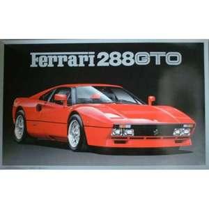FERRARI 288 GTO FUJIMI RC-106-3800 scala 1/16