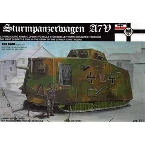 STURMPANZERWAGEN A7V TAURO MODEL
