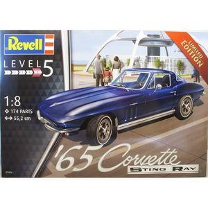 1965 Corvette Sting Ray Revell 07434 Scala: 1:8