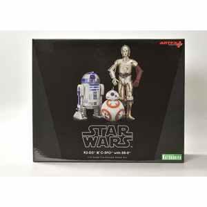 STATUETTE R2-D2 & C-3PO CON BB-8 STATUE FIGURE 1/10 STAR WARS