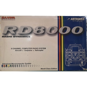 AIRTRONICS RD 8000 RADIO DYNAMICS 8 CANALI (SOLO RADIO)