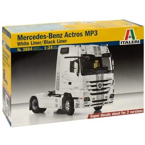 Mercedes Benz Actros Mp3 Black/White Liner