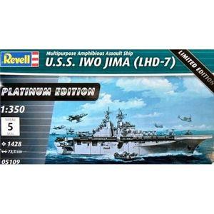 uss iwo jima (lhd-7) platinum edition Revell 1/350