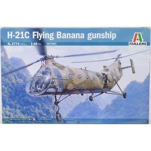 h-21c flying banana gunship italeri