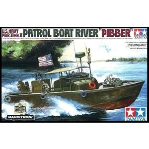 "U.S. NAVY PBR31MK.II PATROL BOAT RIVER ""PIBBER"" TAMIYA 1:35"