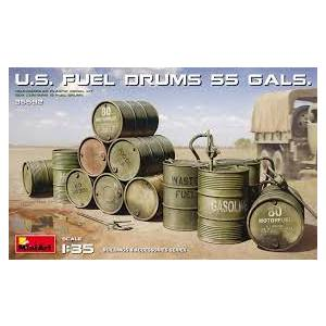 U.S. FUEL DRUMS 55 GALS. MINIART