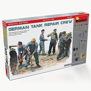 GERMAN TANK REPAIR CREW  WWII MILITARY SERIES  MINIART