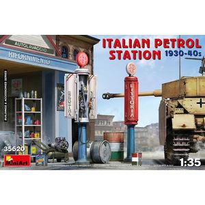 ITALIAN PETROL STATION 1930-40S MINIART