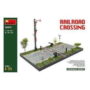 RAILROAD CROSSING MINIART