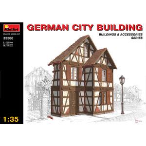 GERMAN CITY BUILDINGS  MINIART