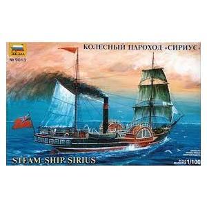 STEAM SHIP SIRIUS ZVEZDA SCALA 1:100