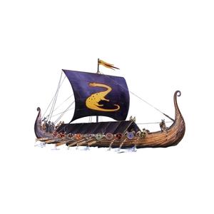 DRAKKAR OSEBERG VIKING SHIP MISTER HOBBY KITS SCALA 1:180