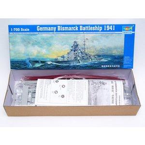 germany bismarck battleship 1941 trumpeter