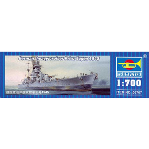 german heavy cruiser Prinz Eugen 1945 trumpeter