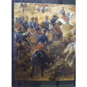 Chasseurs d'Afrique (set 1) - 6 mounted 1/72 miniatures