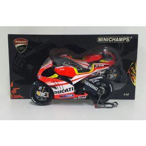 Ducati Desmosedici GP11 - Unveiling -  Valentino Rossi Collection by Minichamps 122110846