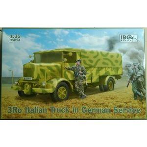 Camion Italiano in servizio tedesco