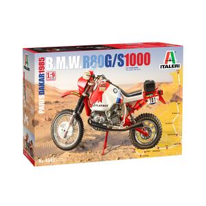 B.M.W. R80 G/S 1000 Paris Dakar 1985 by Italeri 4641