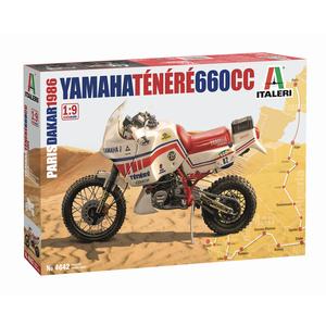 Yamaha Ténéré 660cc - Paris Dakar 1986 by Italeri 4642