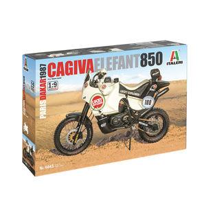 Cagiva Elefant 850 | Paris-Dakar 1987 by Italeri 4643